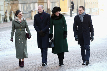 Princess Victoria The Duke and Duchess of Cambridge Visit Sweden and Norway - Day 1
