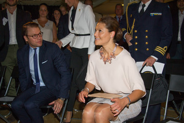Princess Victoria Swedish Royals Attend 'Never Mind the Gap' Seminar in Stockholm