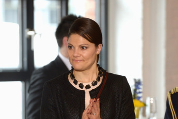 Princess Victoria Swedish Royals Visit Hamburg