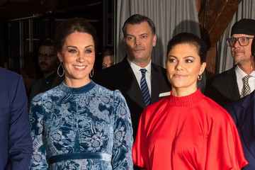 Princess Victoria The Duke and Duchess of Cambridge Visit Sweden and Norway - Day 2