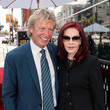 Priscilla Presley Television Producer Nigel Lythgoe Honored With Star On The Hollywood Walk Of Fame