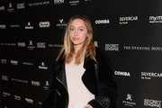 "Brandi Cyrus attends a private reception during Sundance 2020 for ""The Evening Hour"" hosted by RAND Luxury at The St. Regis Deer Valley on January 27, 2020 in Park City, Utah."
