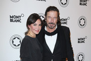 Tom Lemke and Nadine Warmuth attend the Prix Montblanc 2012 at the Konzerthaus am Gendarmenmarkt on October 29, 2012 in Berlin, Germany.