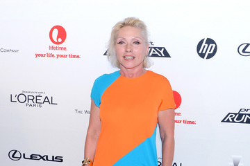 Debbie Harry Project Runway Life-Sized Interactive Runway Installation On The High Line In New York