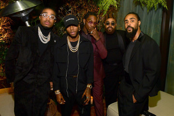 Quavo Jerry Lorenzo 2019 GQ Men Of The Year Celebration At The West Hollywood EDITION - Inside