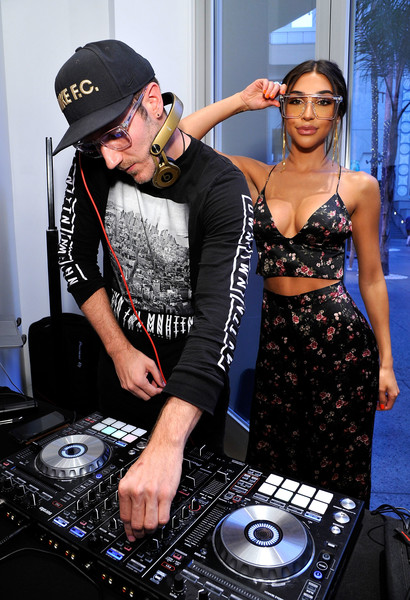 Quay Australia Blue Light Launch Hosted By Music Producer + DJ Chantel Jeffries