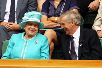 Tim Phillips CBE The Queen Attends The All England Tennis Championships At Wimbledon