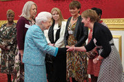 The Queen Attends A Reception to Commemorate The 60th Anniversary Of Cruse Bereavement Care