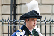 Prince William, Duke Of Cambridge attends the Thistle Service at St Giles' Cathedral on July 3, 2014 in Edinburgh, Scotland. The Queen and The Duke of Edinburgh have spent the week in Scotland attending various events and staying at the Palace of Holyroodhouse. The visit comes before the referendum vote on the 18th September.