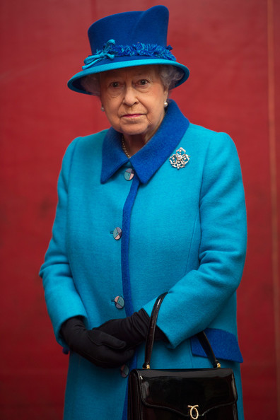 Queen Elizabeth II attends an official visit to Cotts Farm Equine Hospital, Narbeth on April 29, 2014 in Narbeth, Wales. The Cotts Equine Hospital is a purpose-built facility offering veterinary equine care.