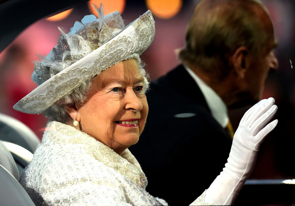 Queen Elizabeth II Queen Elizabeth II, Patron of the CGF arrives during the Opening Ceremony for the Glasgow 2014 Commonwealth Games at Celtic Park on July 23, 2014 in Glasgow, Scotland.