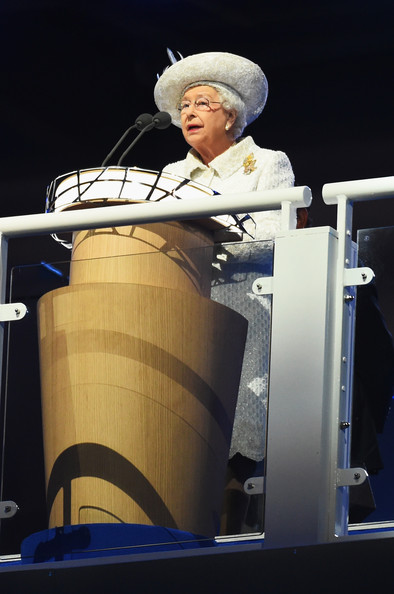 Queen Elizabeth II Queen Elizabeth II, Patron of the CGF speaks during the Opening Ceremony for the Glasgow 2014 Commonwealth Games at Celtic Park on July 23, 2014 in Glasgow, Scotland.