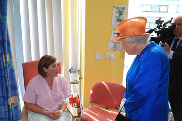 Queen Elizabeth II The Queen Visits Injured Victims of the Manchester Arena Bombing