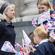 The Duchess of Gloucester Queen Elizabeth II Attends 300th Anniversary Service At St Paul's Cathedral