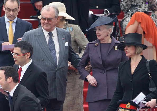 Queen Margrethe And Queen Elizabeth Queen Elizabeth ii Attends The