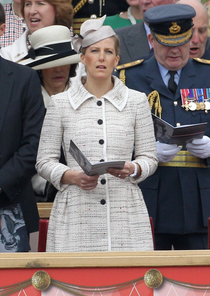 Sophie, Countess of Wessex attends the Armed Forces Parade and Muster on May 19, 2012 in Windsor, England. Over 2500 troops took part in the Diamond Jubilee Muster in Home Park.