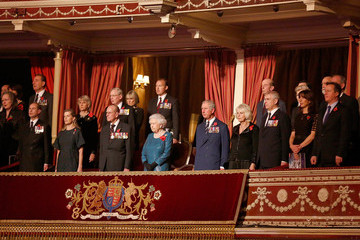Queen Elizabeth II Countess of Wessex Festival Of Remembrance 2014