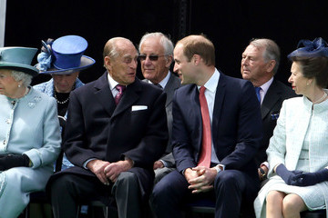 Queen Elizabeth II Princess Anne The Queen and Royal Family Mark the 800th Anniversary of the Magna Carta