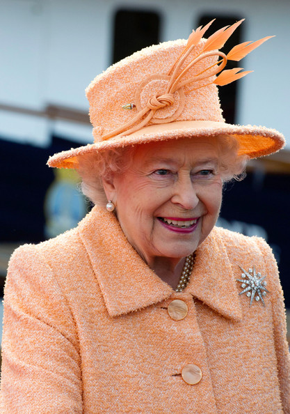 Queen Elizabeth II Visits North East As Part Of Her Diamond Jubilee Tour