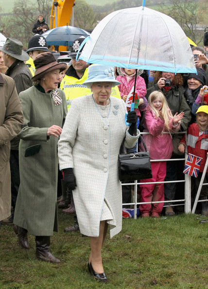 Queen Elizabeth II Visits Wales - Day Two
