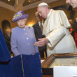 Queen Elizabeth II Pope Francis I Photos