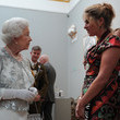 Tracey Emin and Queen Elizabeth II