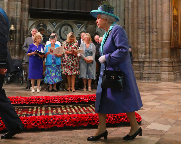 Westminster Abbey Service To Commemorate The Royal Air Force's 100th Birthday
