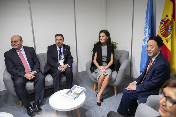 Queen Letizia OF Spain Attends COP25
