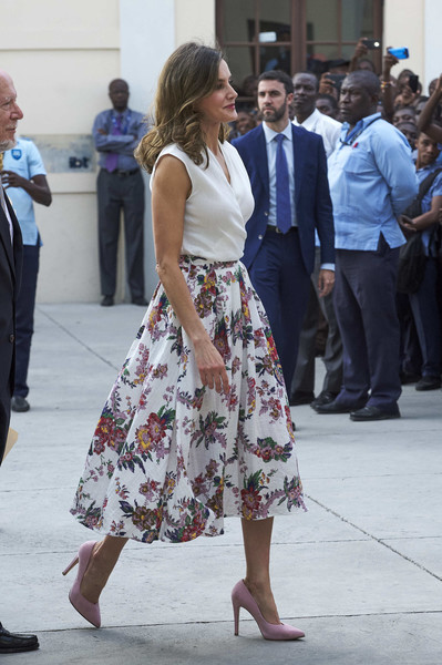 Day 4- Queen Letizia's Third Cooperation Trip To Dominican Republic And Haiti