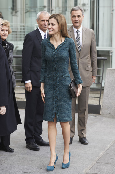 Queen Letizia Visits Reina Sofia National Museum