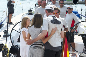 Queen Letizia of Spain Day 6 - 37th Copa Del Rey Mapfre Sailing Cup