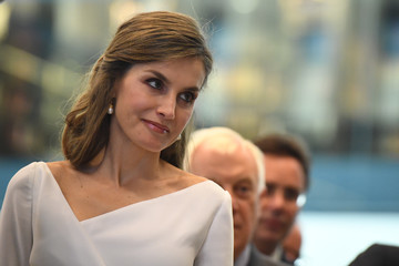 Queen Letizia of Spain State Visit of the King and Queen of Spain - Day 3