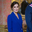 Queen Letizia of Spain Spanish Royals Celebrate New Year's Military Parade 2020