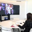 Queen Letizia of Spain Queen Letizia Of Spain Meets Down Association Spain On Video Conference