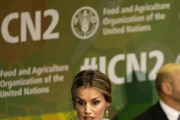 Queen Letizia of Spain Spanish Royals at FAO in Rome