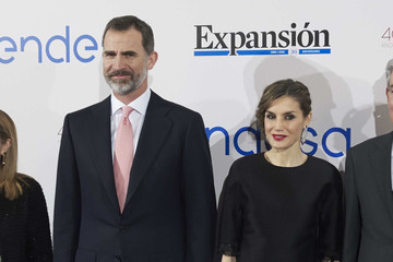 Queen Letizia of Spain Spanish Royals Attend Expansion Newspaper 30th Anniversary