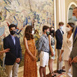 Queen Letizia of Spain Spanish Royals Receive The United World Colleges Spain Foundation