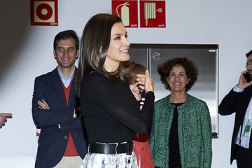 Queen Letizia of Spain Queen Letizia Of Spain Attends '(IN) Formate' Project Presentation In Madrid
