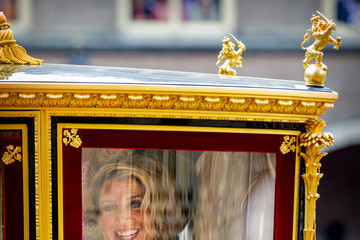 Queen Máxima Dutch Royal Family Attends The Parliamental Year Prinsjesdag Opening In The Hague