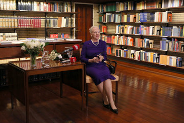 Queen Margrethe II Queen Margrethe Visits Rome - Day 2