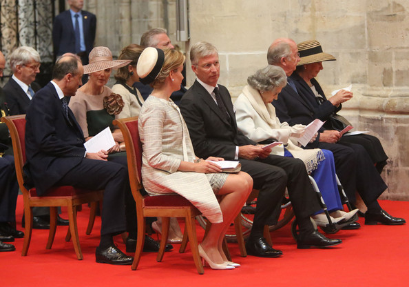 Belgium Royal Family Attends A Mass For The 20th Anniversary Of King Baudouin's death [baudouin,philippe,mathilde,claire,lorentz,astrid,albert,paola,fabiola,belgium royal family attends a mass for the 20th anniversary,event,sitting,tourism]