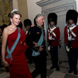 Queen Mathilde Crown Prince Frederik Of Denmark Holds Gala Banquet At Christiansborg Palace