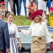 Queen Mathilde of Belgium 75th Anniversary Of Zeeland Liberation From The Nazis