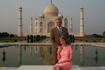 Queen Mathilde of Belgium Belgium's King Philippe and Queen Mathilde on Official Visit to India