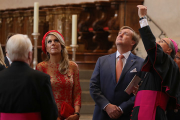 Queen Maxima King Willem-Alexander And Queen Maxima Of The Netherlands Visit Germany