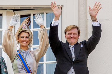 Queen Maxima Dutch Royal Family Attends The Parliamental Year Prinsjesdag Opening In The Hague