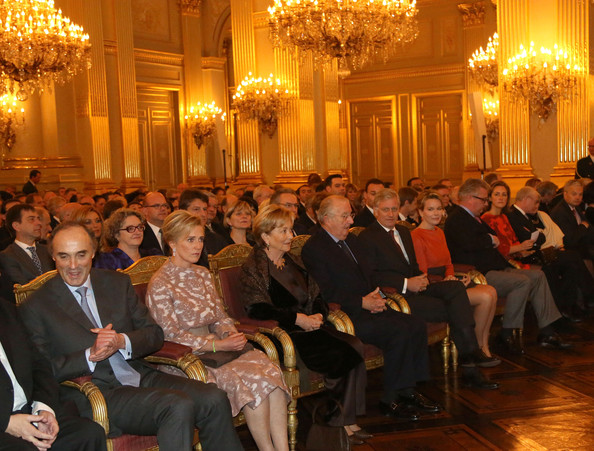 Belgian Royal Family Reception For Country Officials