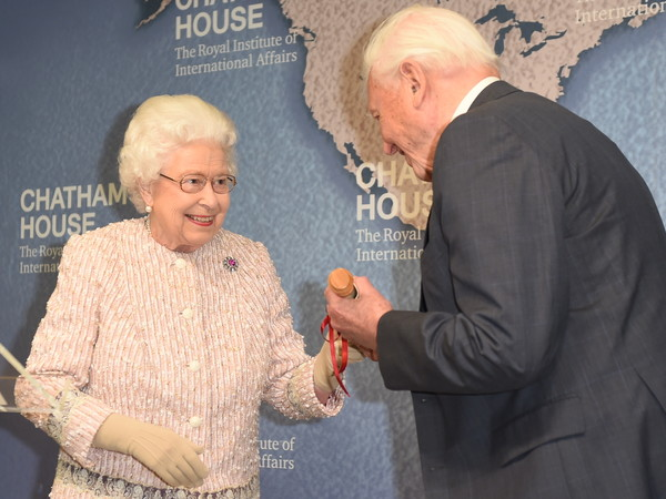 The Queen Presents The Chatham House Prize 2019
