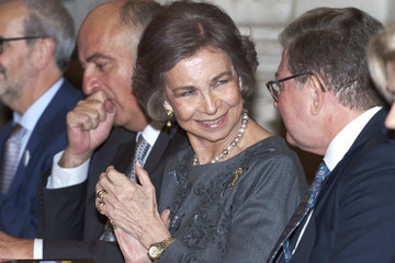 Queen Sofia Queen Sofia Delivers 'Queen Sofia Iberoamerican Poetry' Award