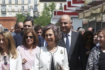Queen Sofia Queen Sofia Inaugurates The Book Fair in Madrid